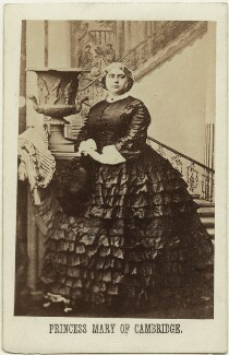 Princess Mary Adelaide, Duchess of Teck, by Camille Silvy - NPG x26730