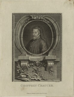 Geoffrey Chaucer, by Joseph Collyer the Younger - NPG D24075