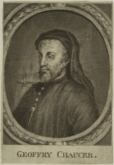 Geoffrey Chaucer, after Unknown artist - NPG D24076