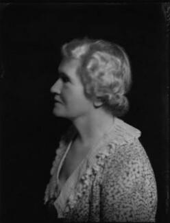 Violet Ellen Jessie (née Lewis), Lady Argyle, by Bassano Ltd, 1 July 1935 - NPG x151483 - © National Portrait Gallery, London