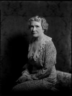 Violet Ellen Jessie (née Lewis), Lady Argyle, by Bassano Ltd, 1 July 1935 - NPG x151484 - © National Portrait Gallery, London