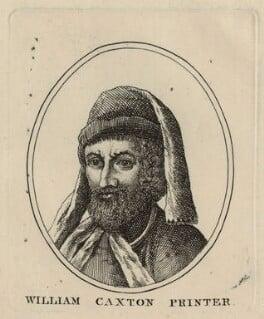 William Caxton, after Unknown artist - NPG D24081