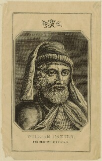 William Caxton, after Unknown artist - NPG D24082