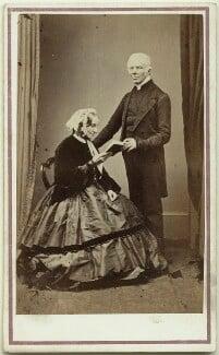 Charlotte Keble (née Clarke); John Keble, by Preston & Poole, 1863 - NPG Ax7501 - © National Portrait Gallery, London