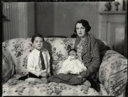 Charles Richard Walter Sale; Caroline Ismay Maud Sale; Hon. Ismay Hilda Margaret Sale (née Fitzroy), by Bassano Ltd - NPG x151500