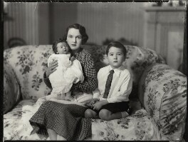 Caroline Ismay Maud Sale; Hon. Ismay Hilda Margaret Sale (née Fitzroy); Charles Richard Walter Sale, by Bassano Ltd - NPG x151501