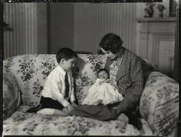Charles Richard Walter Sale; Caroline Ismay Maud Sale; Hon. Ismay Hilda Margaret Sale (née Fitzroy), by Bassano Ltd - NPG x151502