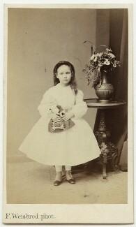 Beatrice Augusta Corbet, by Friedrich Weisbrod - NPG x17316