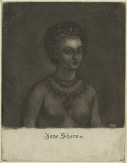 Jane Shore, after Unknown artist - NPG D24098