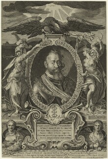 Sigismund Bathory, Prince of Transylvania, by Aegidius Sadeler II, published by  Marcus Sadeler - NPG D24105