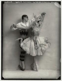 Pierre Vladimiroff; Lydia Kyasht, by Bassano Ltd - NPG x80130