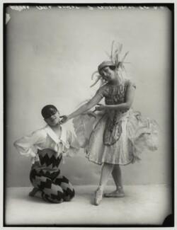 Pierre Vladimiroff; Lydia Kyasht, by Bassano Ltd - NPG x80133