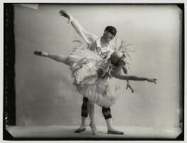 Lydia Kyasht; Pierre Vladimiroff, by Bassano Ltd - NPG x80137