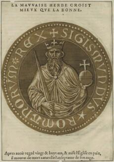 Sigismund, Holy Roman Emperor, after Unknown artist - NPG D24107