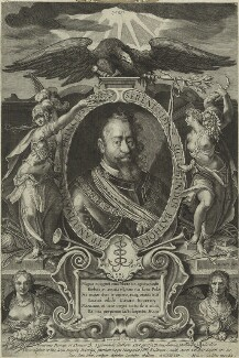 Sigismund Bathory, Prince of Transylvania, by Aegidius Sadeler II, published by  Marcus Sadeler - NPG D24108