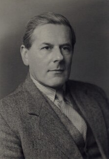David Robert Alexander Lindsay, 28th Earl of Crawford and 11th Earl of Balcarres, by Walter Stoneman - NPG x166814