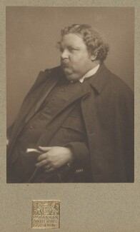 G.K. Chesterton, by James Craig Annan, 1912 - NPG  - © National Portrait Gallery, London