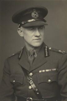 Sir Kenneth Noel Crawford, by Walter Stoneman - NPG x166816