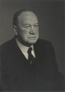 Sir William Smith Crawford, by Walter Stoneman - NPG x166820