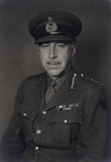 Henry Duncan Graham Crerar, by Walter Stoneman - NPG x166830