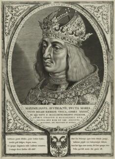 Maximilian I, Holy Roman Emperor, by Cornelis Visscher, after  Lucas van Leyden - NPG D24116