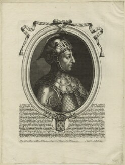 Louis VII of France, by Nicolas de Larmessin, published by  Pierre Bertrand - NPG D24124