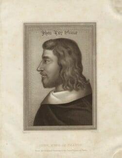 Jean II (John II), King of France, by William Thomas Fry - NPG D24126