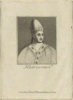Pope Adrian V, after Unknown artist, published 1800 - NPG D24127 - © National Portrait Gallery, London