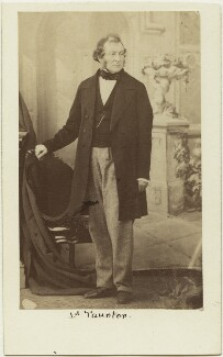 Henry Labouchere, Baron Taunton, by Caldesi, Blanford & Co, early 1860s - NPG Ax30387 - © National Portrait Gallery, London