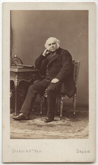 James Bruce, 8th Earl of Elgin, by Disdéri - NPG x12644
