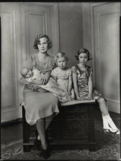 Lady Headley with her children, by Bassano Ltd - NPG x151530