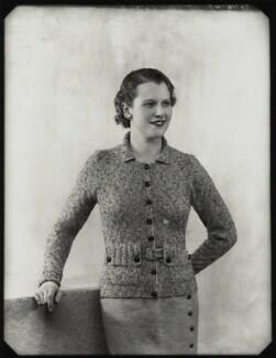 (Felicity) Philippa (née Talbot-Ponsonby), Lady Scott, by Bassano Ltd - NPG x151532