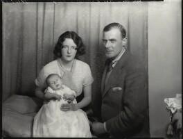 Hon. Lena Barbara Joan Onslow (née Ogilvie-Grant); Roger Cranley Seafield Onslow; Frank Herbert Onslow, by Bassano Ltd - NPG x151534