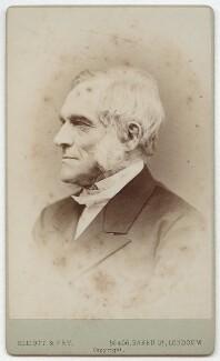 (John) Frederick Denison Maurice, by Elliott & Fry - NPG x13961