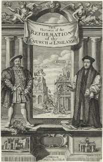 King Henry VIII and Thomas Cranmer, by Robert White - NPG D24146