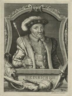 King Henry VIII, by Johann David Schleuen - NPG D24147