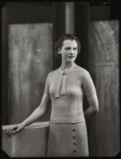(Felicity) Philippa (née Talbot-Ponsonby), Lady Scott, by Bassano Ltd - NPG x151539