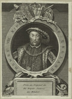 King Henry VIII, by James Hulett, after  Hans Holbein the Younger - NPG D24148