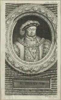King Henry VIII, by George Vertue - NPG D24153