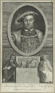 King Henry VIII, by Charles Sherwin, after  Hans Holbein the Younger - NPG D24158