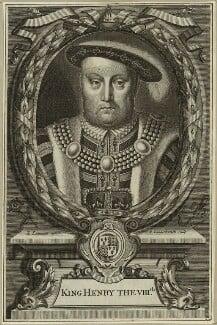 King Henry VIII, by Peter Vanderbank (Vandrebanc), after  Edward Lutterell (Luttrell) - NPG D24161