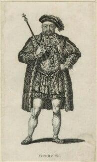 King Henry VIII, after Unknown artist - NPG D24162