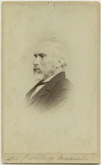 Sir William Stirling-Maxwell, 9th Bt, by Thomas Annan - NPG x45089