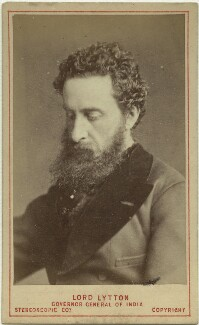 Edward Robert Bulwer-Lytton, 1st Earl of Lytton, by London Stereoscopic & Photographic Company, 1876 - NPG x17069 - © National Portrait Gallery, London