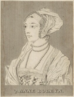Unknown woman formerly known as Anne Boleyn, after Hans Holbein the Younger - NPG D24178