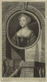 Jane Seymour, by Cornelis Martinus Vermeulen, after  Adriaen van der Werff - NPG D24182