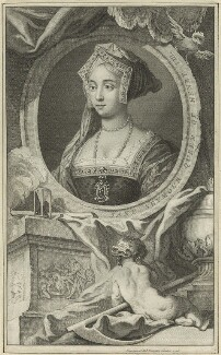 Jane Seymour, probably by Jacobus Houbraken - NPG D24184