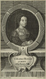 Unknown woman engraved as Catherine Howard, by Edward Rooker, after  Hans Holbein the Younger - NPG D24186