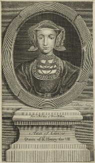 Anne of Cleves, by F. Patton, after  Hans Holbein the Younger - NPG D24187