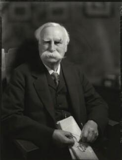 Sir Edward Bagnall Poulton, by Bassano Ltd - NPG x151557